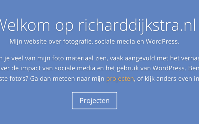 Nieuwe look-and-feel voor de website